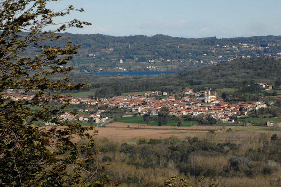 Piedmont, Italy a town