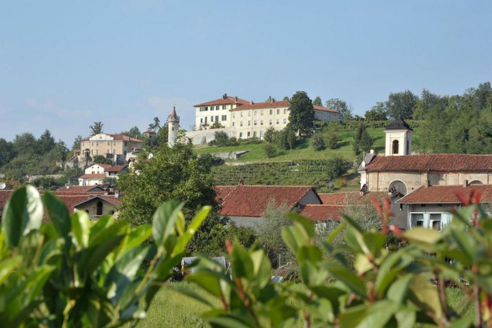 Castello in mezzo ai vigneti, Canavese