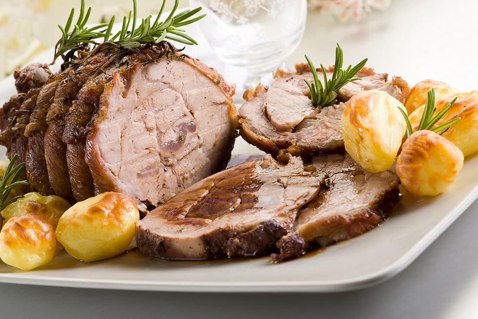 Arrosto con patate, carne piemontese