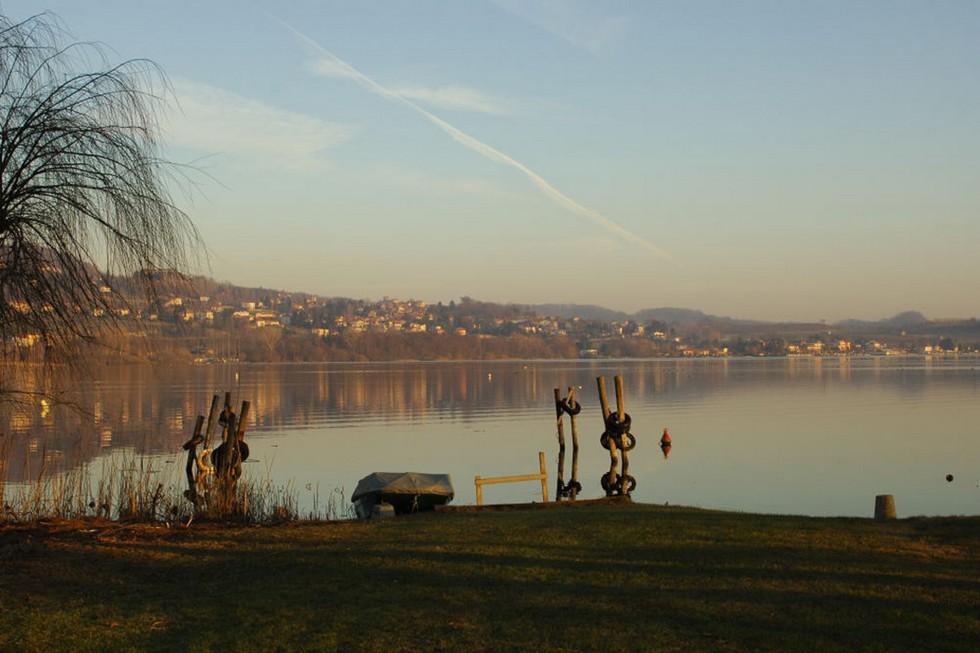 Lago di Viverone, vista