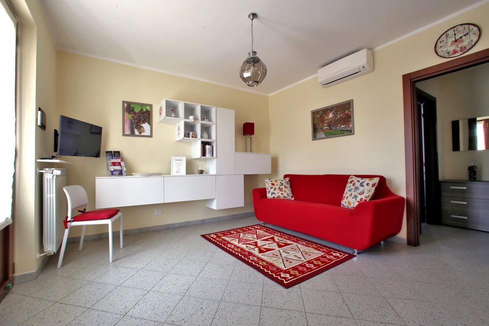 Salotto privato in appartamento vacanze Canavese