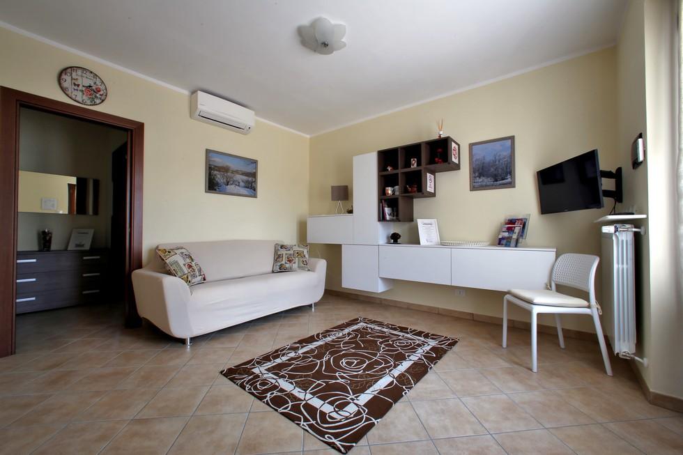 Soggiorno in appartamento vacanze Canavese