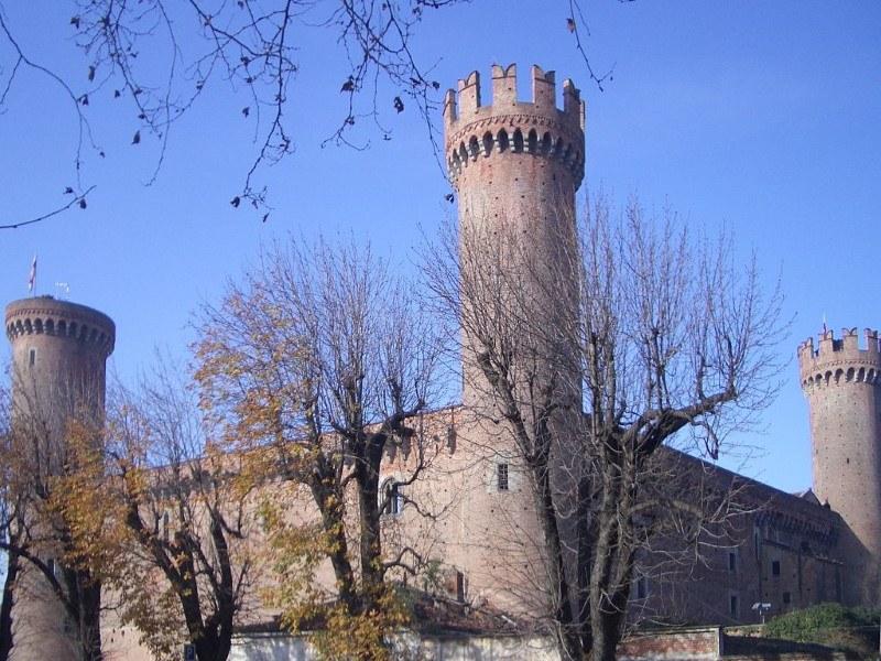 Castle in the city of Ivrea